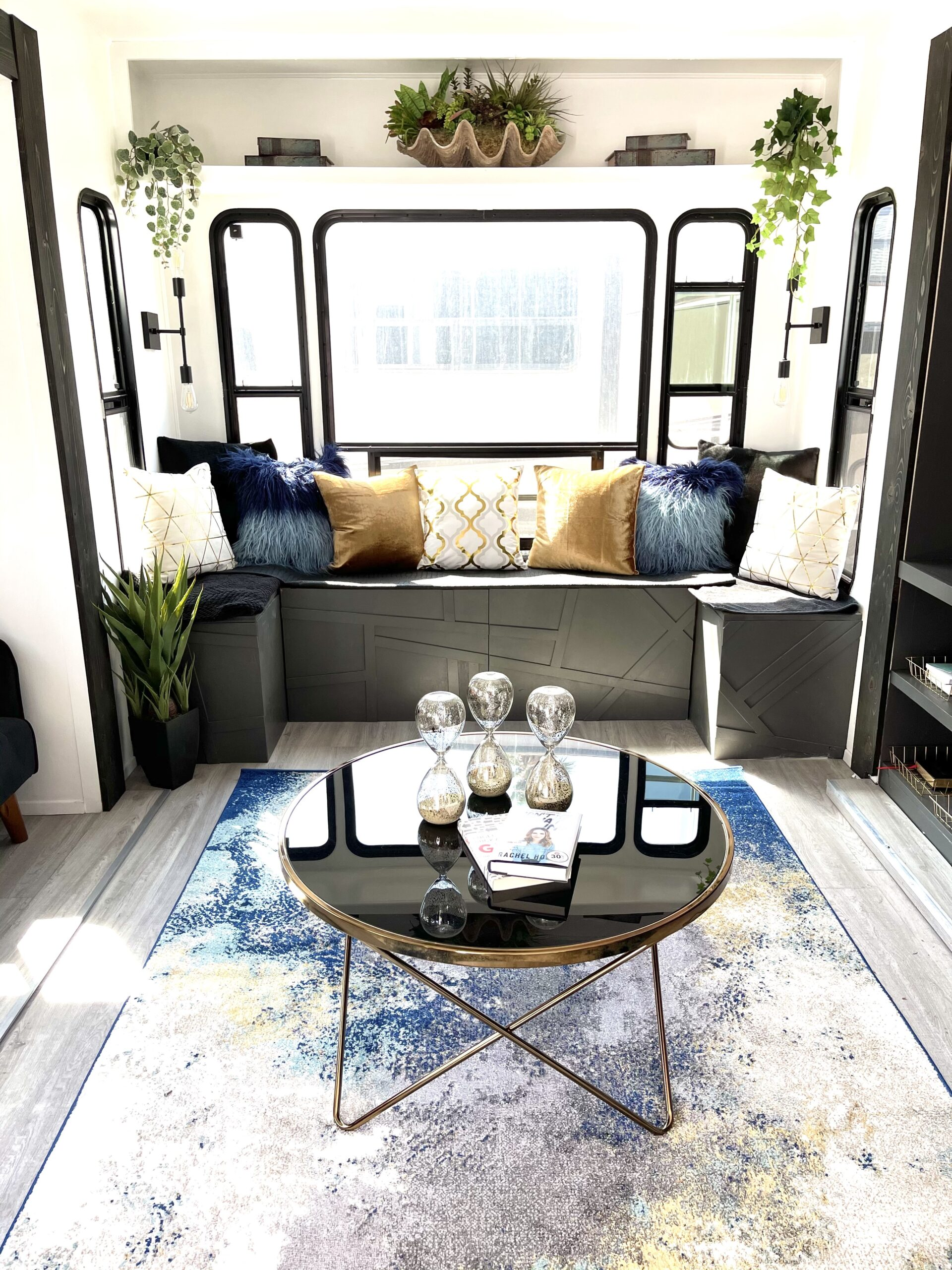 RV Remodel Before And After